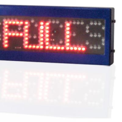Spaces Full LED sign