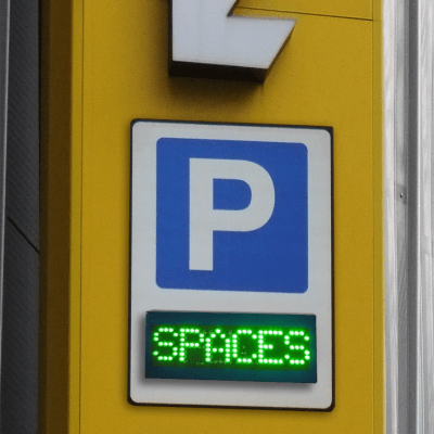 SPACES FULL LED PARKING SIGN