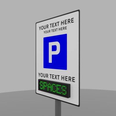 Parking P Plate 2