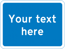 Custom Road Sign | Road Signs Direct